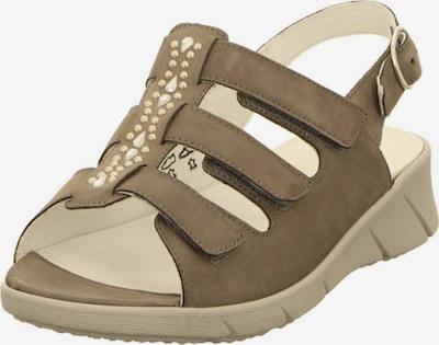 WALDLÄUFER Sandale in taupe, Produktansicht