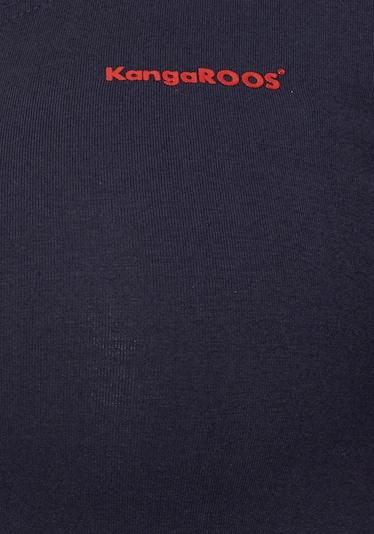 KangaROOS Kleid in marine / rosa / rot / blutrot / weiß, Produktansicht