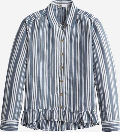 HOLLISTER Bluse in hellblau / weiß, Produktansicht