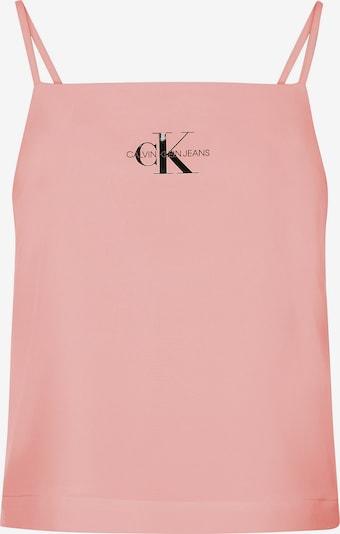 Calvin Klein Jeans Top 'Logo' in koralle, Produktansicht