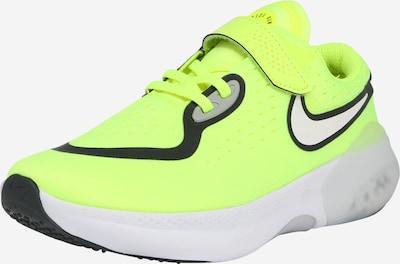 Nike Sportswear Tenisky 'JOYRIDE DUAL RUN' - svítivě žlutá / černá: Pohled zepředu
