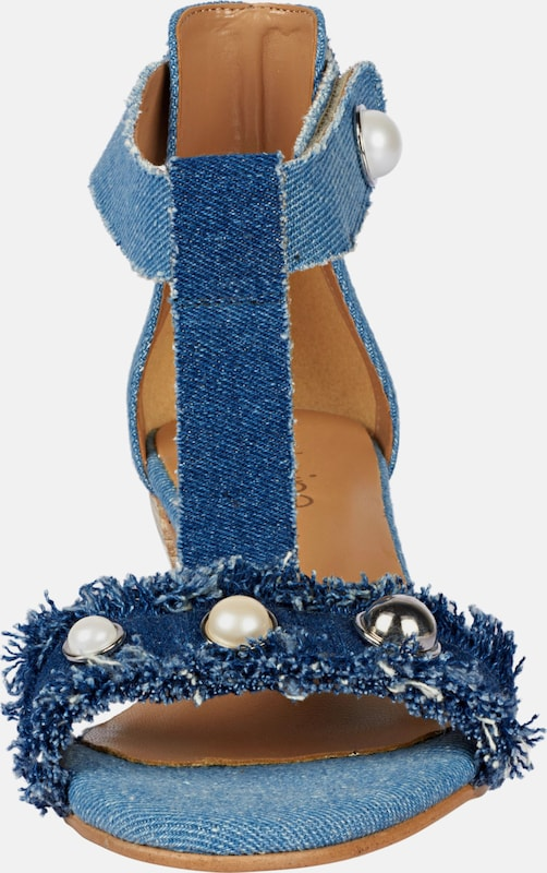 heine Sandalette im Denim-Look