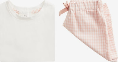 MANGO KIDS Pyžamo 'Lola' - broskvová / bílý melír, Produkt
