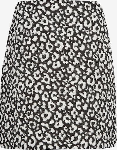 Dorothy Perkins Damen - Röcke 'MONO JACQUARD MINI SKIRT' in beige / schwarz, Produktansicht