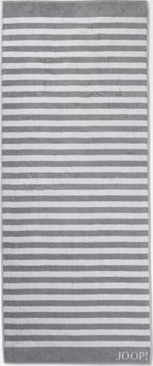 JOOP! Saunatuch 'Stripes' in grau / weiß, Produktansicht