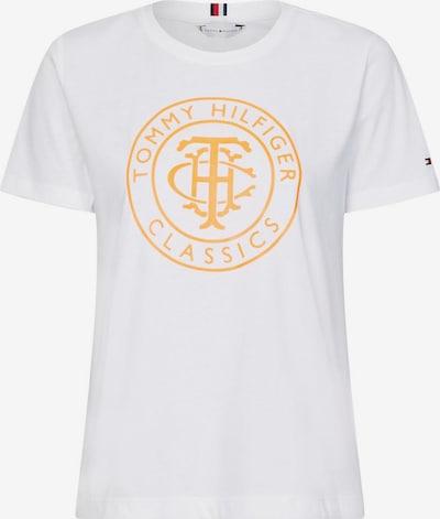 TOMMY HILFIGER Shirt in de kleur Lichtoranje / Wit, Productweergave