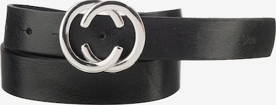 s.Oliver Gürtel in schwarz / silber, Produktansicht