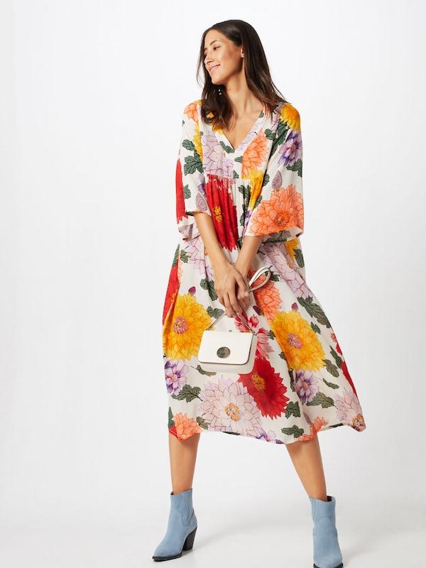 Couleurs Dress Botanic D'été 'mini Flowers' Frogbox En Mélange Robe De QrChdxts