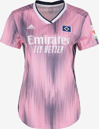 ADIDAS PERFORMANCE Maillot 'Hamburger SV Home 2019/2020 ' en rose clair / noir / blanc, Vue avec produit