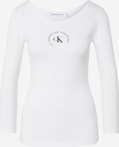 Calvin Klein Jeans T-shirt 'BALLET' en blanc, Vue avec produit