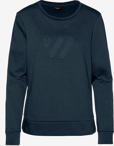 Scheck Sweatshirt in navy, Produktansicht