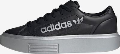 ADIDAS ORIGINALS Sneaker 'Sleek Super Schuh' in schwarz / silber, Produktansicht