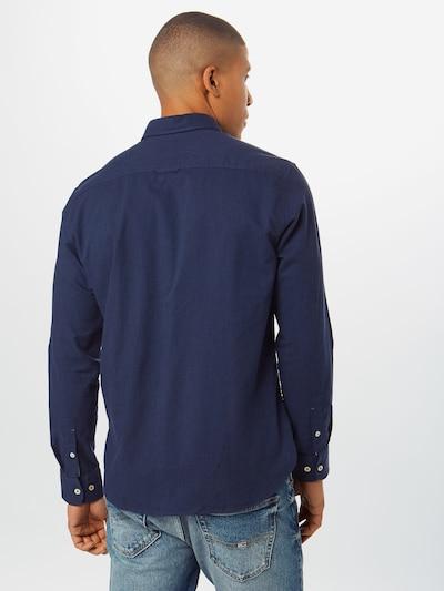 Marc O'Polo Overhemd in de kleur Blauw: Achteraanzicht
