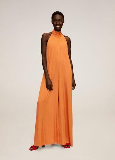 MANGO Jumpsuit in orange, Modelansicht