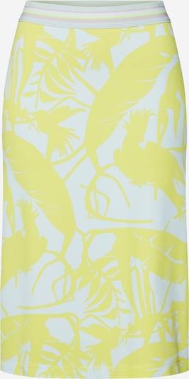LAUREL Jupe en jaune / menthe, Vue avec produit