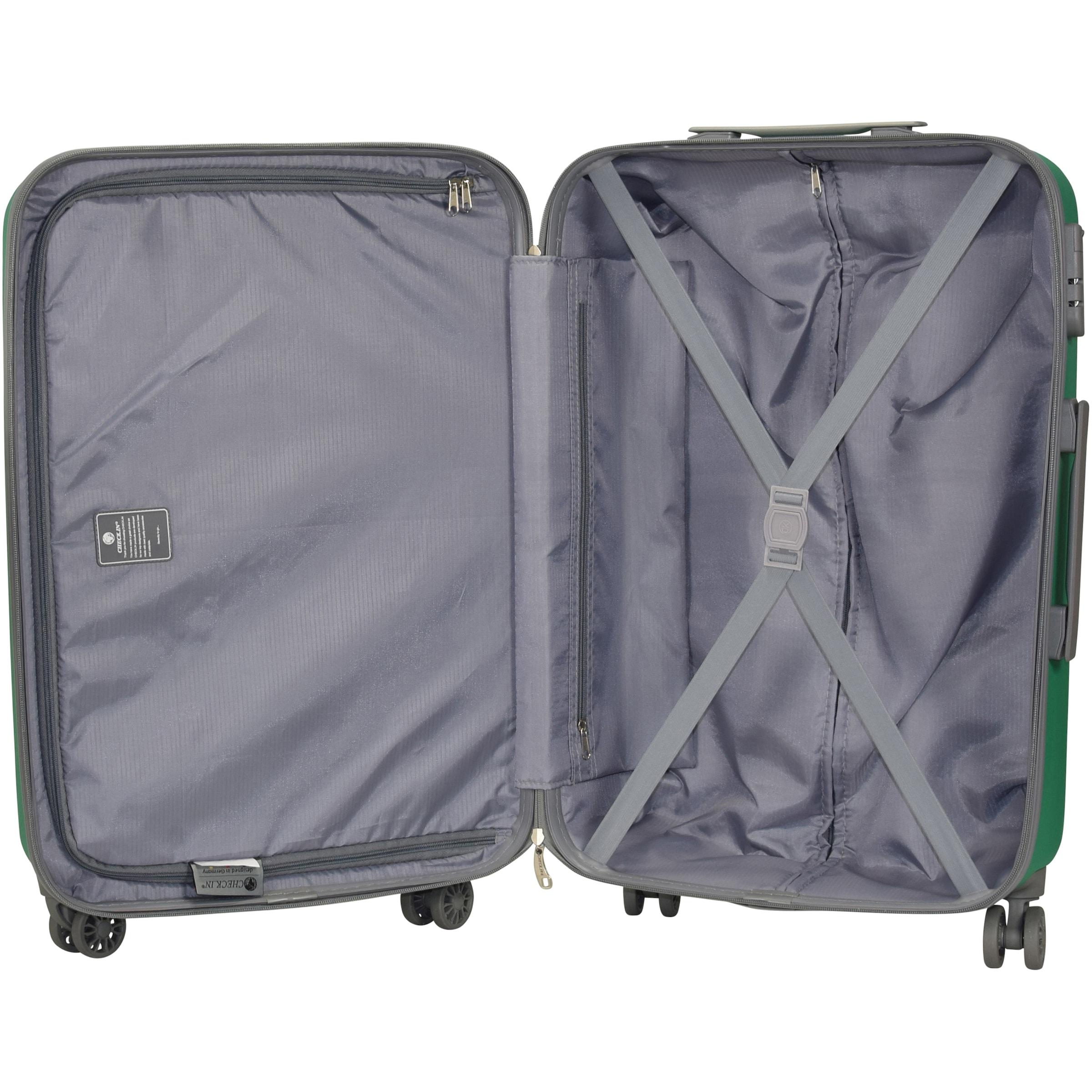 CHECK.IN Kofferset in grün