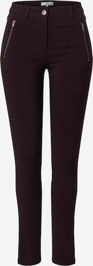 Soyaconcept Pantalon 'LILLY' en brun foncé: Vue de face