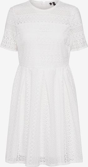VERO MODA Kleid 'VMHONEY LACE PLEATED S/S DRESS EXP' in weiß, Produktansicht