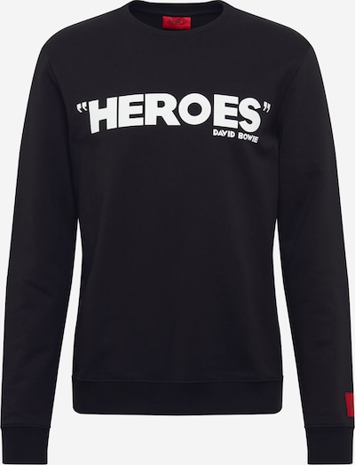 HUGO Sweatshirt 'Deroes' in schwarz, Produktansicht