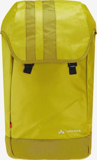VAUDE Sac à dos de sport 'Adays Amir' en jaune, Vue avec produit