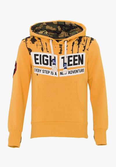 PLUS EIGHTEEN Pullover in gelb, Produktansicht