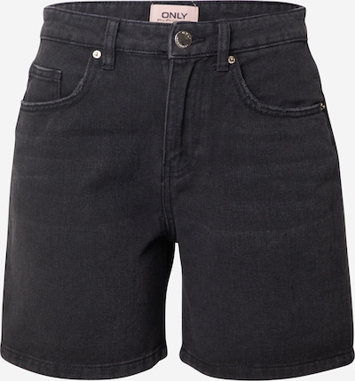 ONLY Shorts 'ONLPHINE' in black denim, Produktansicht