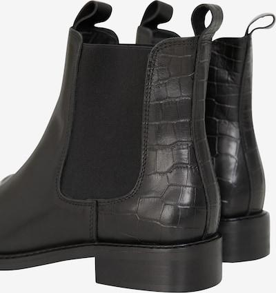 EDITED Chelsea Boots 'Aida' in schwarz: Rückansicht