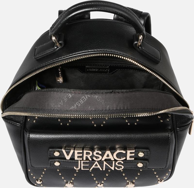 En Sac Versace À Dos Jeans Noir 'tbbe7' BeordxC