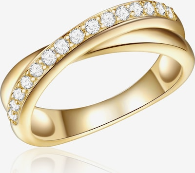 Rafaela Donata Ring in gold / weiß, Produktansicht