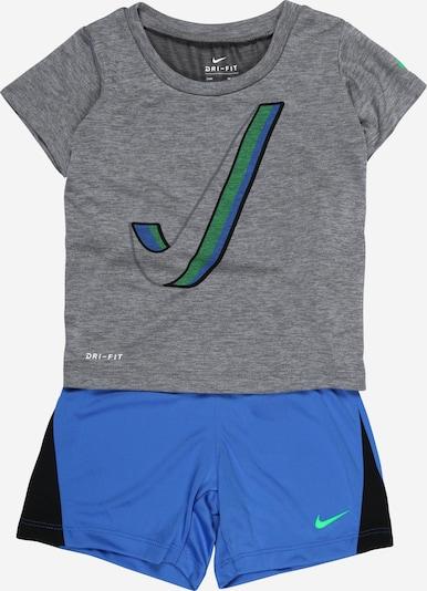 Nike Sportswear Set in blau / graumeliert, Produktansicht
