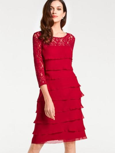 heine Spitzenkleid in rubinrot, Modelansicht