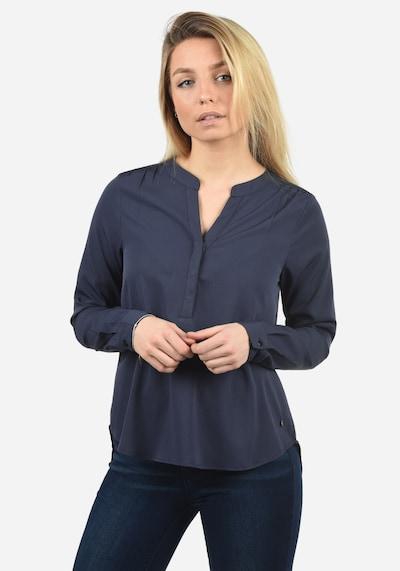 Blend She Langarmbluse 'Amelia' in blau, Modelansicht