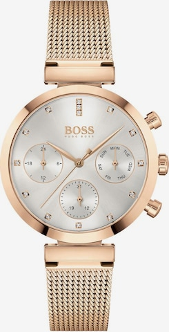BOSS Casual Analog Watch 'Flawless' in Gold