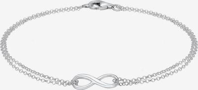 ELLI Armband 'Infinity' in silber, Produktansicht