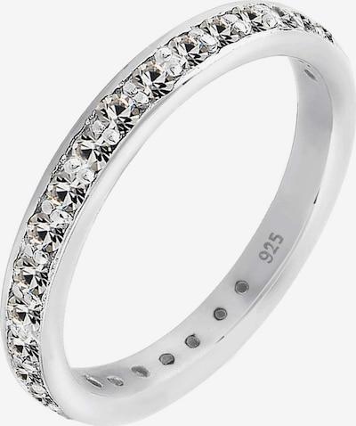 ELLI Ring 'Kristall' in de kleur Zilver, Productweergave