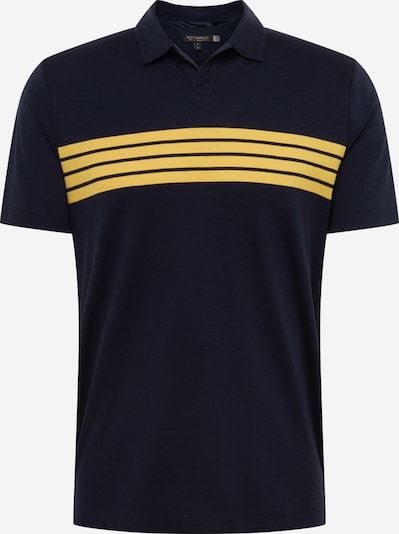 Banana Republic Shirt 'PERF LUX 4 CHEST STRIPE POLO' in de kleur Navy, Productweergave