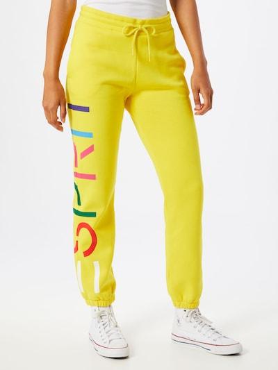 ESPRIT Hose in gelb / mischfarben, Modelansicht