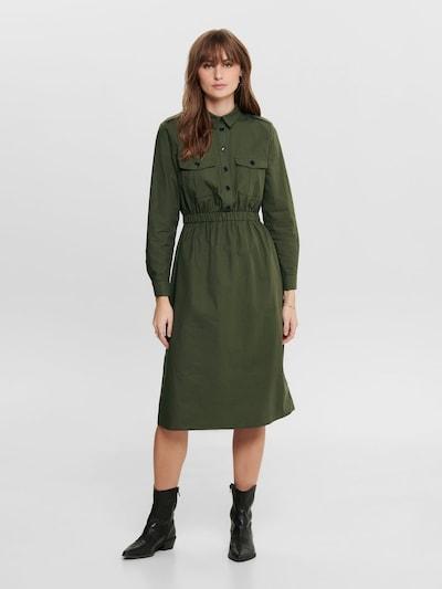 ONLY Jurk 'ONLRIBA' in de kleur Groen, Modelweergave
