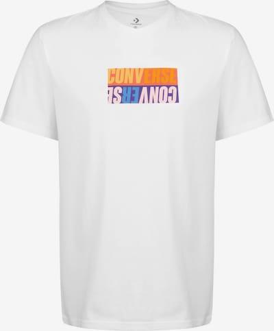 CONVERSE T-Shirt ' Reverse Box ' in weiß, Produktansicht