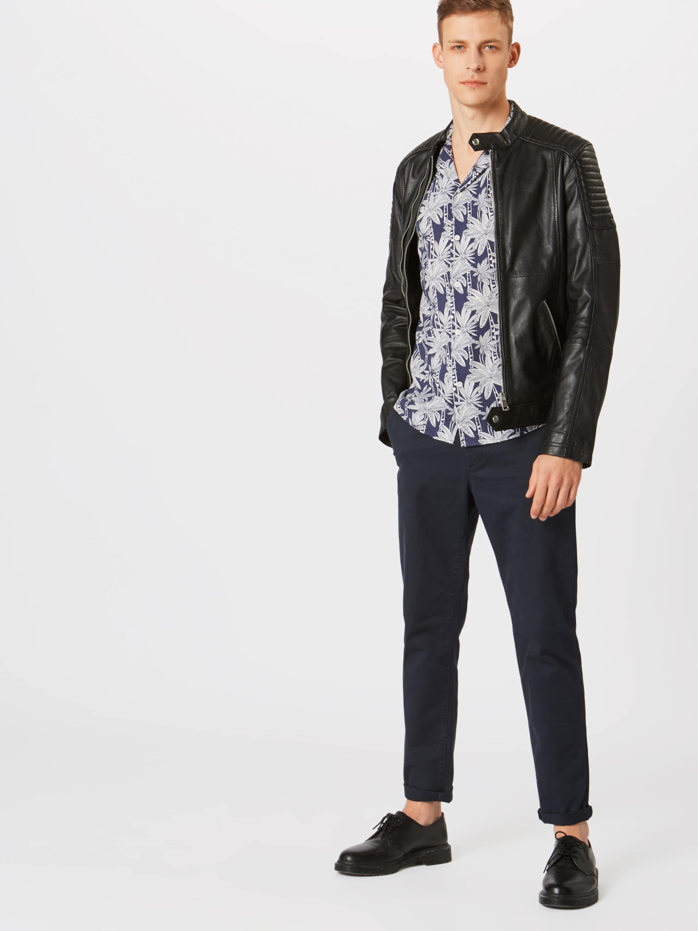 Tropic HimmelblauWeiß solid In 'shirtBrando Ss' Hemd YgyvIfb76