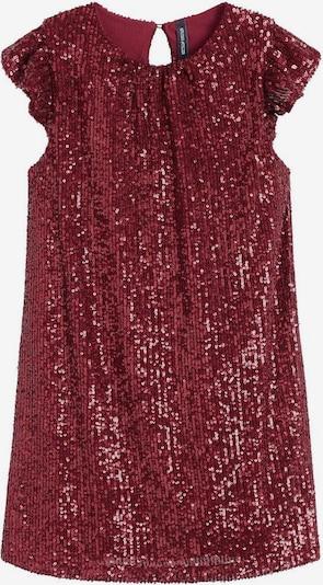 MANGO KIDS Jurk in de kleur Robijnrood, Productweergave