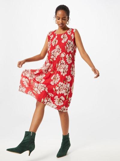 ZABAIONE Kleid 'Paloma' in rosé / rot, Modelansicht