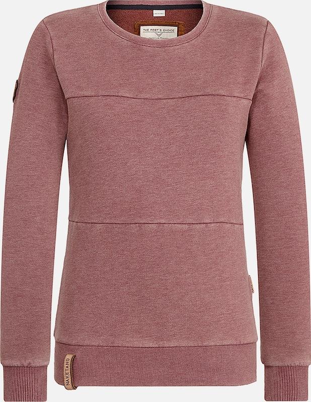 Naketano Naketano Naketano Sweatshirt 'Daisy' in bordeaux  Mode neue Kleidung b4988b