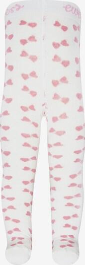 EWERS Strickstrumpfhose in pink / weiß, Produktansicht