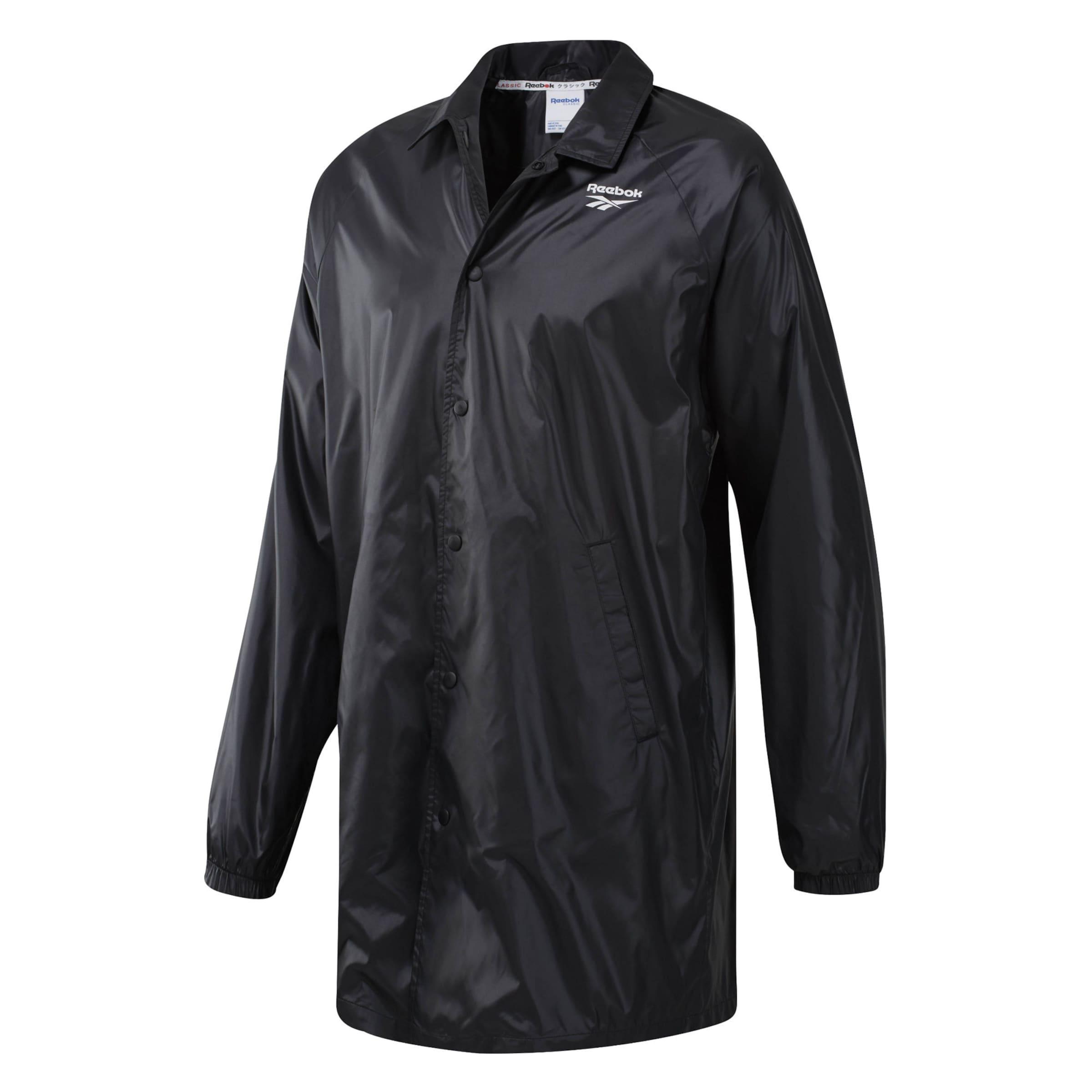 Classic Schwarz Reebok ' In International Long Raincoat Classics 0ymvNwPO8n