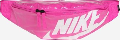 Nike Sportswear Gürteltasche 'Heritage' in pink / weiß, Produktansicht