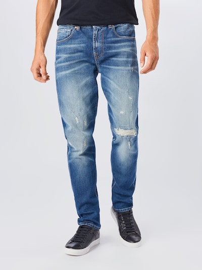 7 for all mankind Jeans in blue denim, Modelansicht