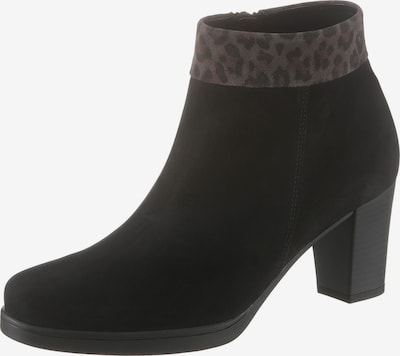 GABOR Ankle Boots in Brown / Black, Item view