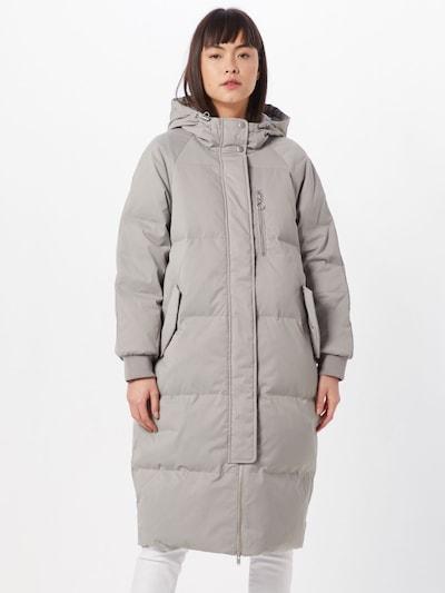 GAP Manteau d'hiver en gris / argent, Vue avec modèle