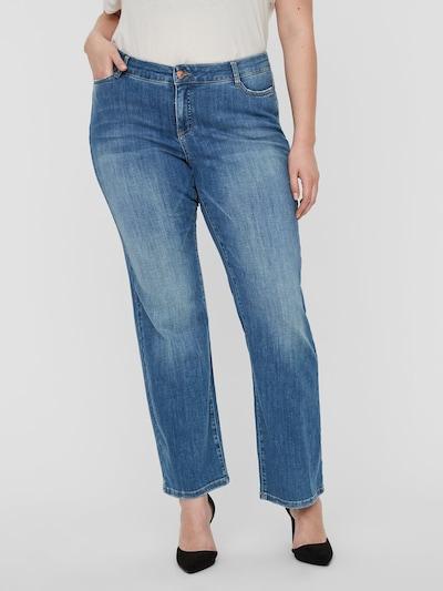 Junarose Jeans in blau, Modelansicht